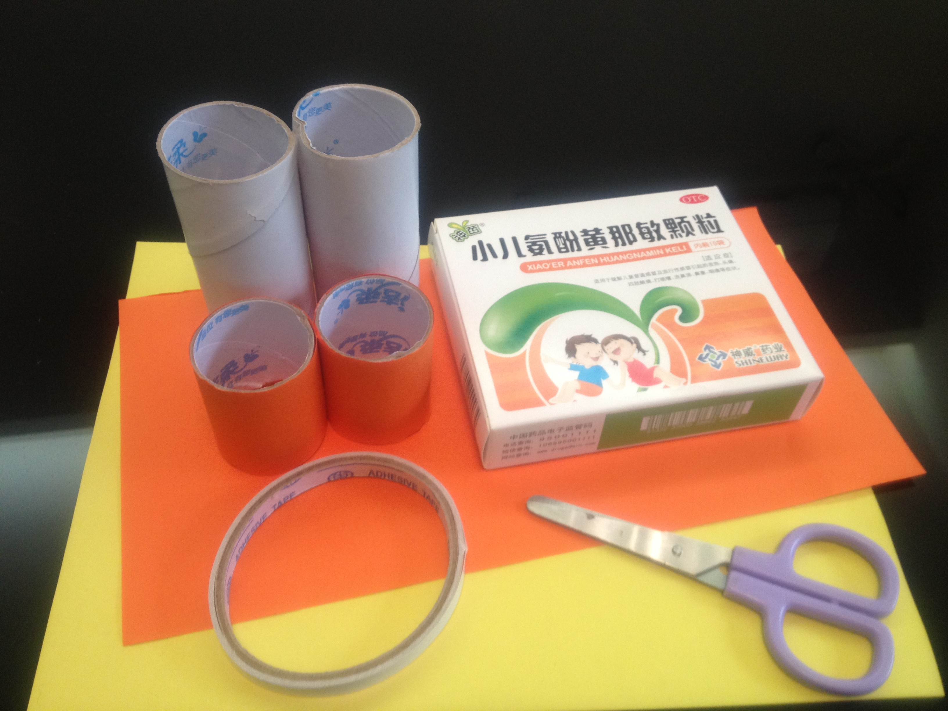 幼儿园橡皮泥纸筒手工图片大全