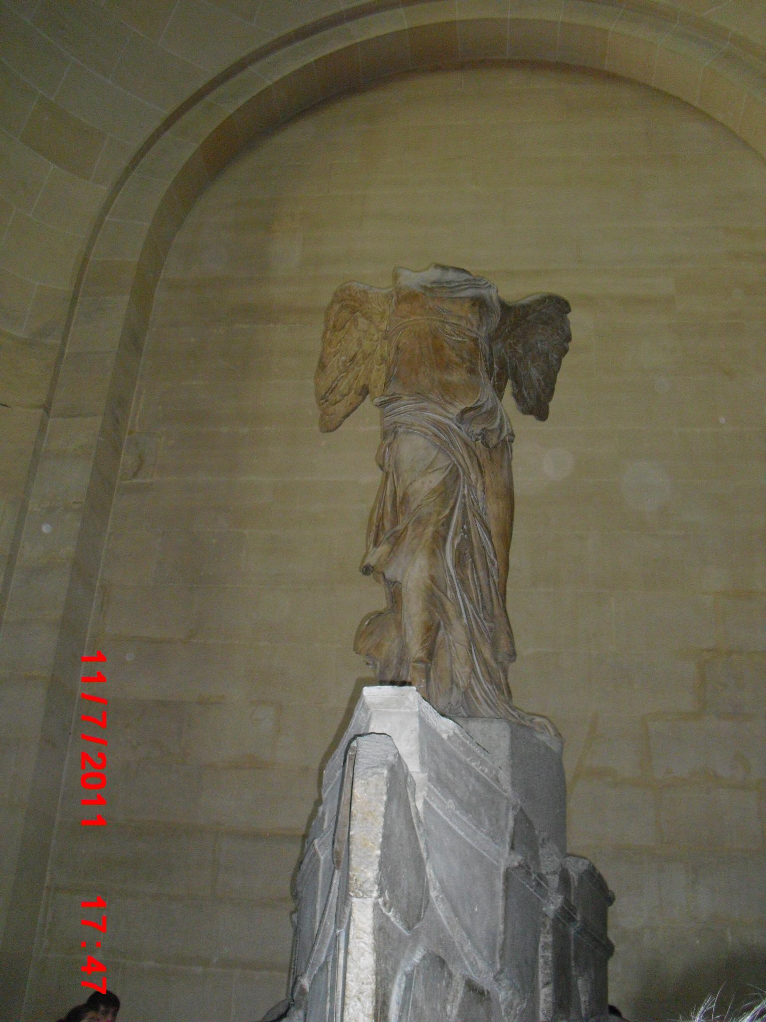 镇宫之宝三——萨莫特拉斯的胜利女神   《萨莫特拉斯的胜高清图片
