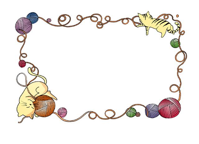 关于元旦超简单手绘花边边框