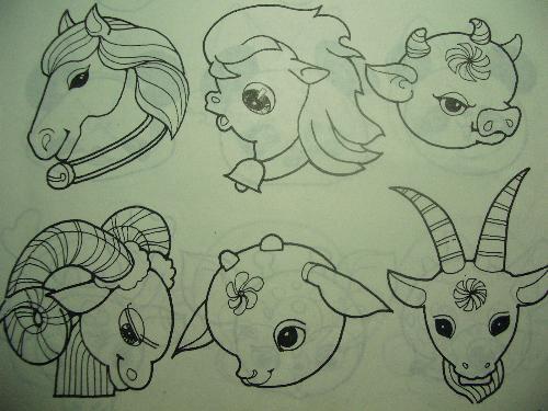 【卡通羊简笔画】,卡通羊图片大全可爱