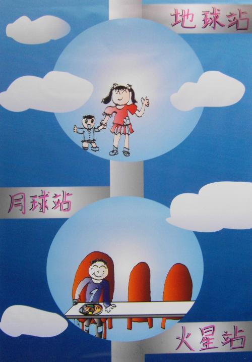 第25届深圳青少年科技创新大赛科幻画比赛参赛作品