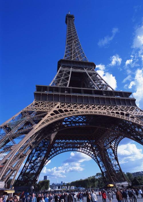 欧洲大陆之旅--埃菲尔铁塔